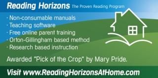 Homeschool curriculum award by Mary Pride